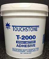 Touchstone T-2000 epoxy setting adhesive