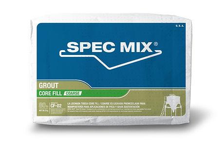 Spec Mix CF-02 Core Fill Grout Tulsa