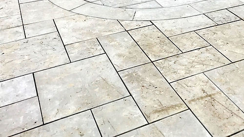 Gabouri dimensional stne pavers patio Tulsa