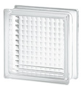 Cross Ribbed Glass Block