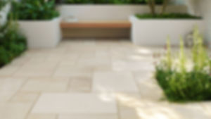 River Trace stone paver patio outdoor living Tulsa
