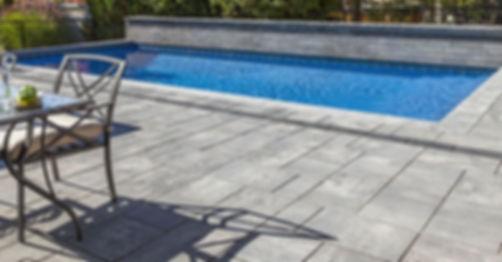 Beacon Hill Smooth Unilock Paver Granite Fusion Pool Deck Tulsa