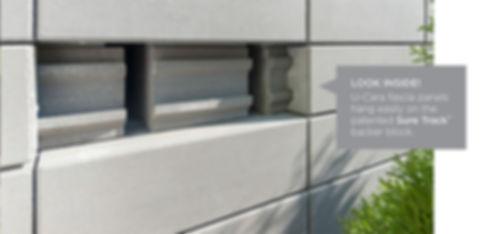 U-Cara Fascia Panels Unilock Wall Tulsa