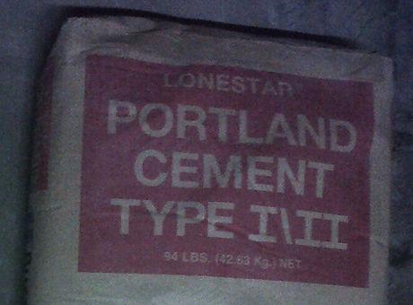 Lonestar Portland Cement Type I/II Tulsa