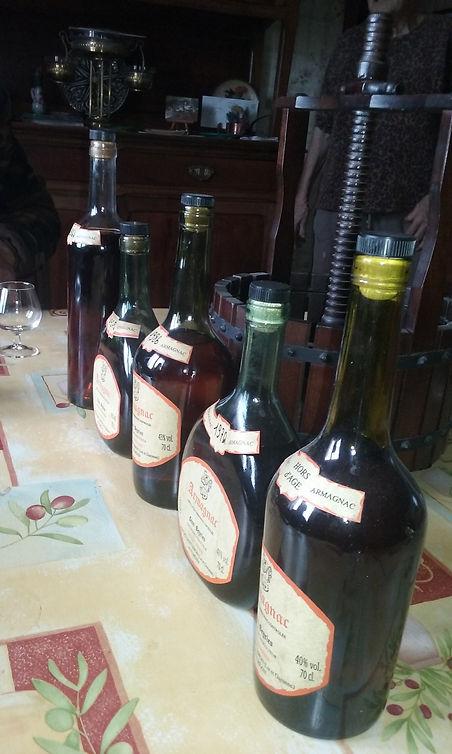 Armagnac à la palombière du Domaine de Maysou-Haut