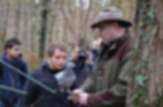 visite pédagogique à la palombière