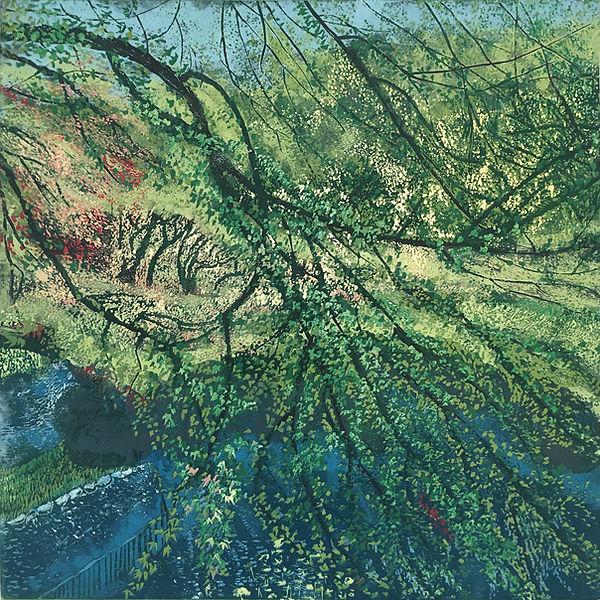 Autumnal Tint through Branches