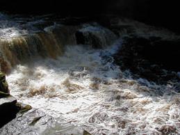 New Lanark river
