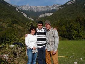 Natasa, Pedro and Ryan