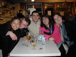 Eunumi, Darel, Pablo, Patricia and Vero