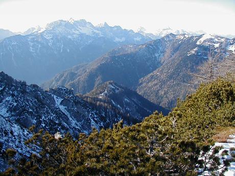 A view into Slovenia