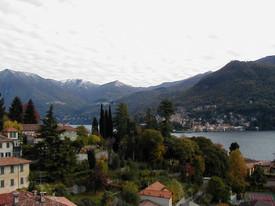 Lago di Como and small village
