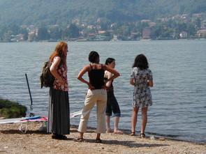 Annemike, Wenete, Melanie and Luiza