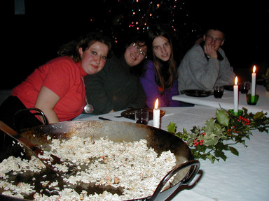 Veronica, Patricia, Anne-Lise & Miguelito