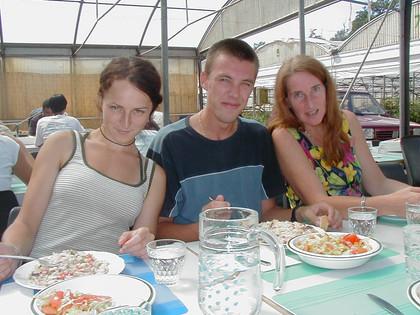 Luiza, Martin and Annameke