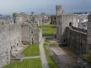 Caernarfon courtyard