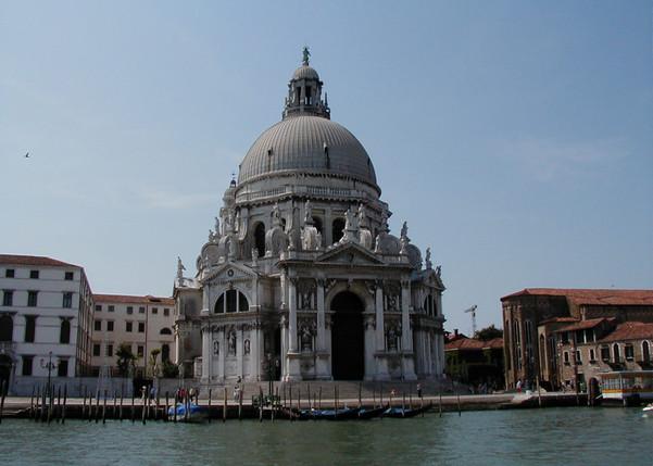 Venzian church without gondolas