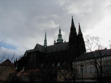 Praha Castle: church