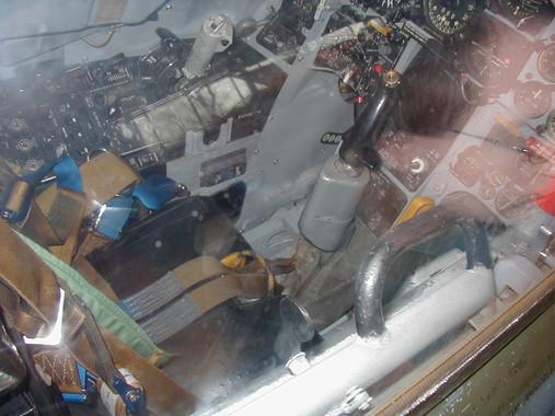Inside the fighter jet!