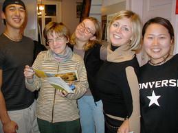 Rich, Eva, Caroline, Alessia and Haeyoung