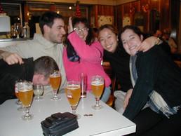 Darel, Pablo, Patricia, Eunumi and Vero