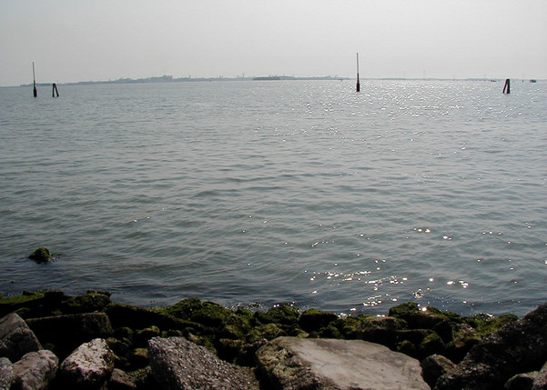 Here I took a few pictures of the water from the campground before we made our way out to Venezia via water taxi!