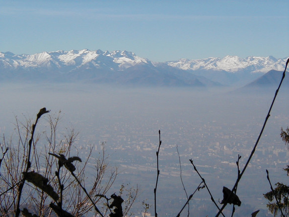 Torino and view from Basilica