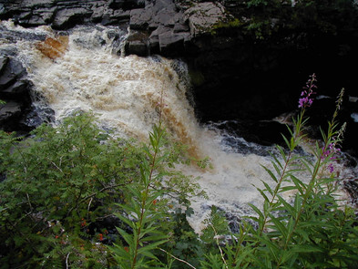 New Lanark waterfall