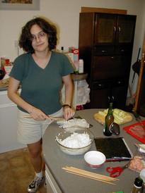 Sushi master Lea