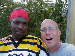 Angolan refugee and Ryan