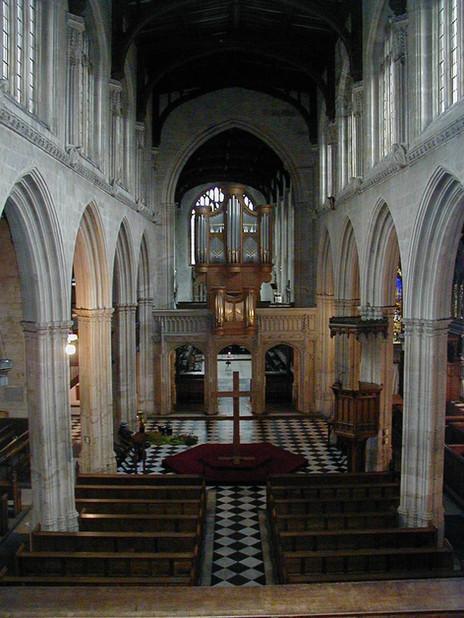 Inside Saint Mary the Virgin Church