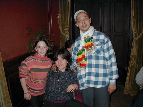 Maria's sister, Maria and Brahim