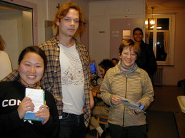 Haeyoung, Thomas and Eva