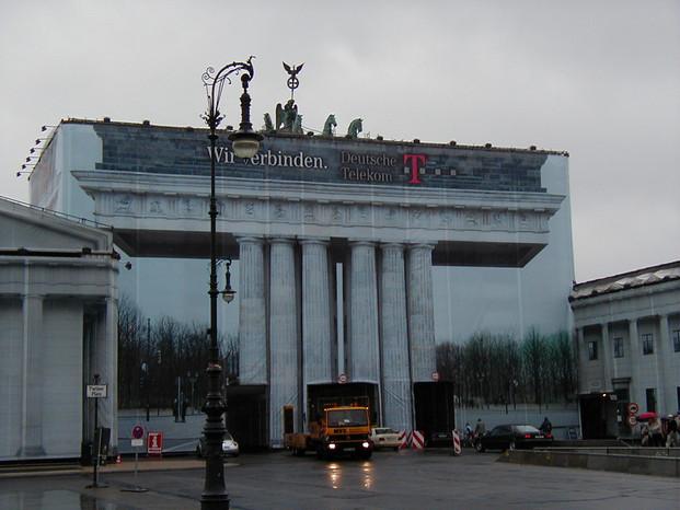 Bandenburg Gate: East Berlin, Germany