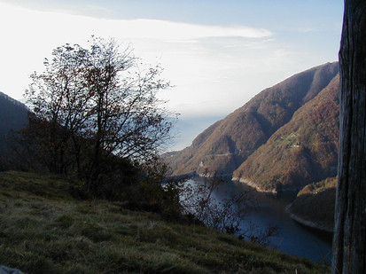 The lake: Berzona, Switzerland
