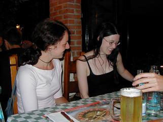 Luiza and Melanie