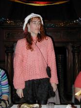 Caroline sings us a Christmas song