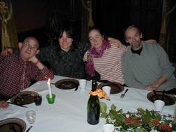 Jean-Michel, Maria, Melanie & Roger
