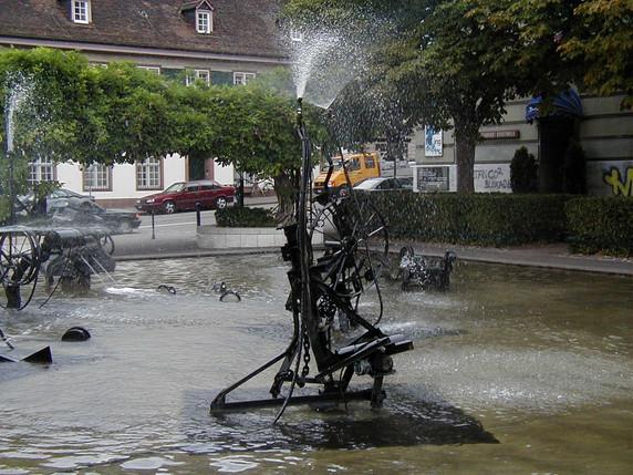 Basel fountain