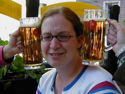 Lien with Beer Ears
