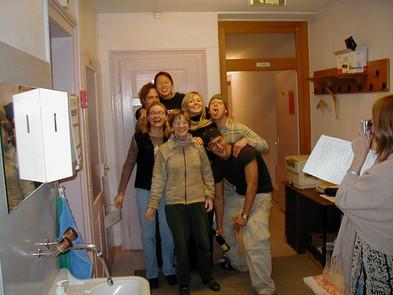 The SCI volunteers