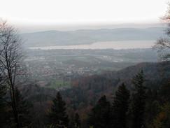 Zurich from Uetilberg
