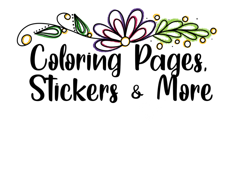 Coloring pages, stickers and more header.png