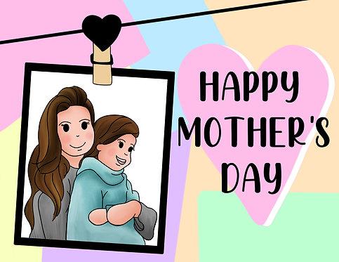 Mother's Day Custom Portrait