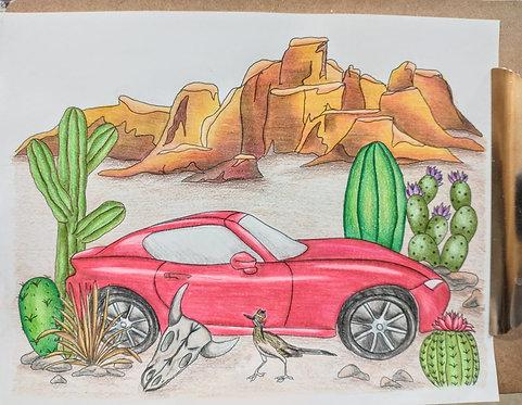 Car ColoringPages-Digital Download