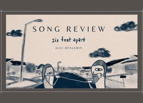 "Review of ""Six Feet Apart"" by Alec Benjamin"