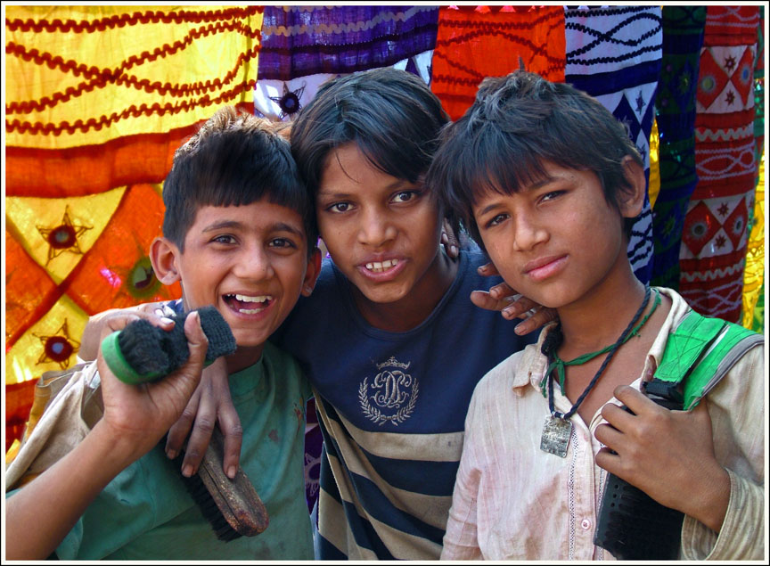 Street Kids, Margao, Goa