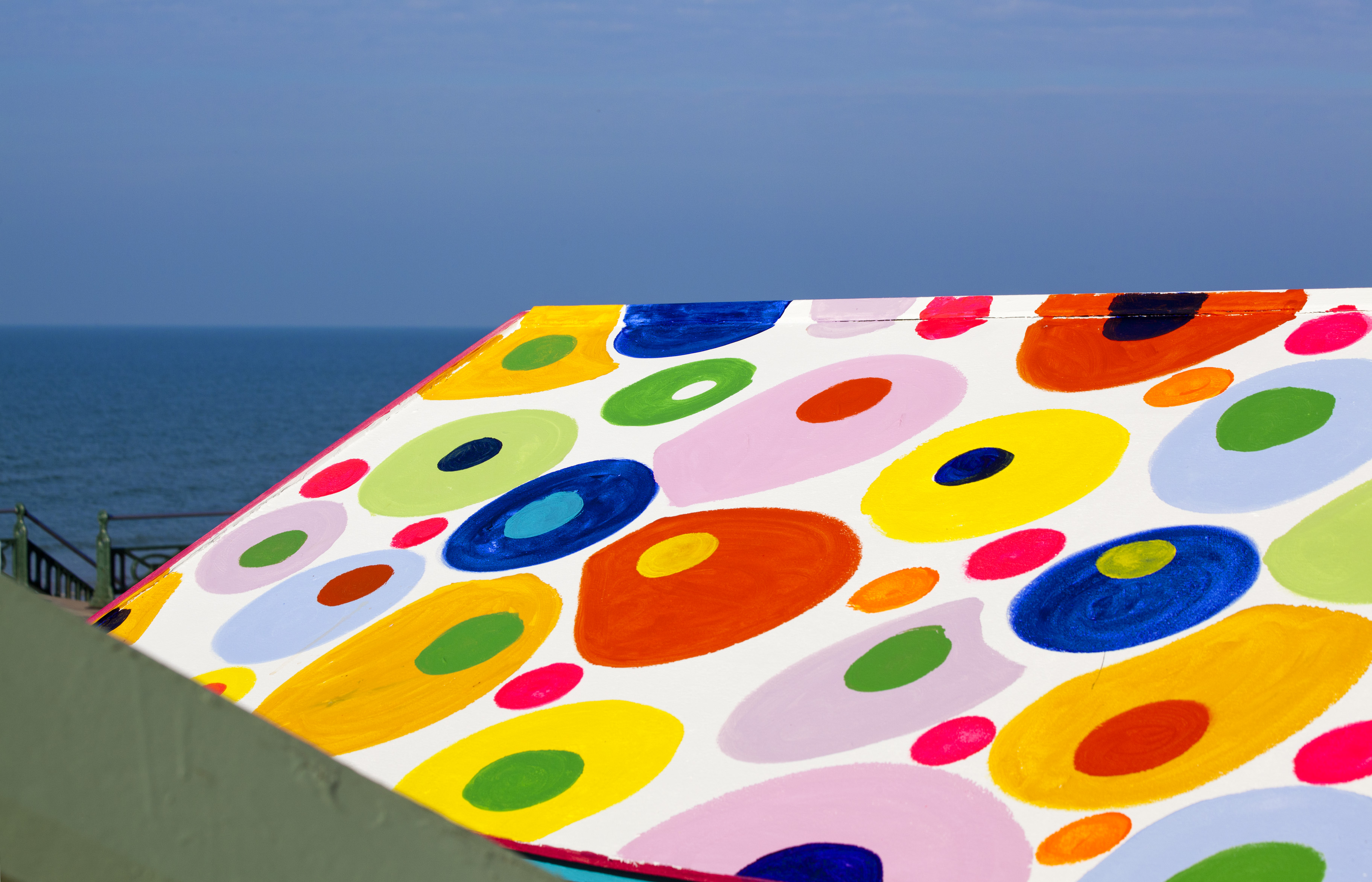 Psychedelic Beach Hut Roof