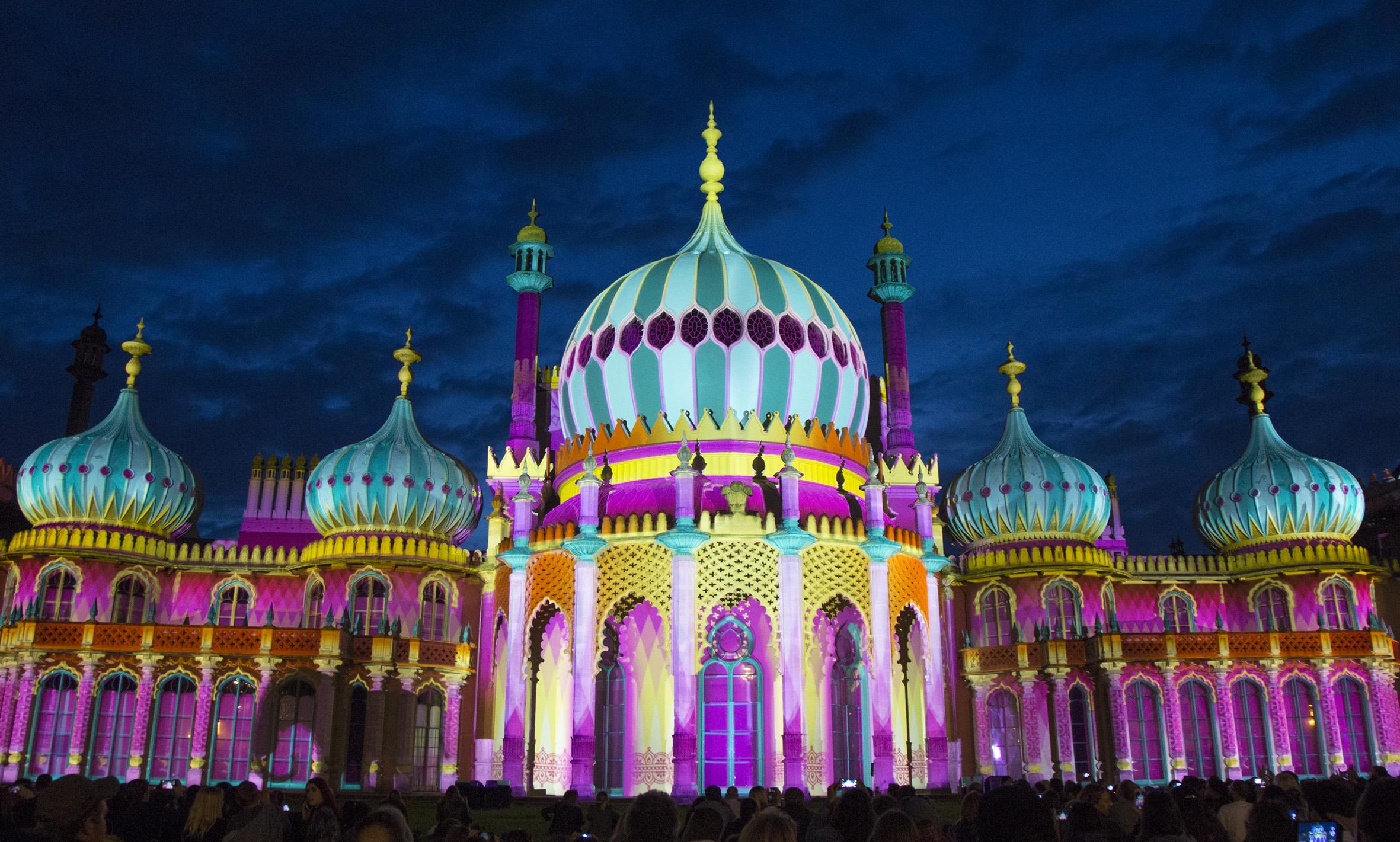 Brighton Festival Pavilion 2016