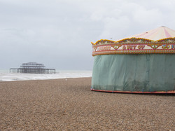 Brighton's West Pier and Carousel